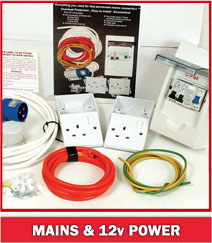 Mains & 12v Power