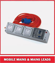 Mobile Mains & Mains Leads